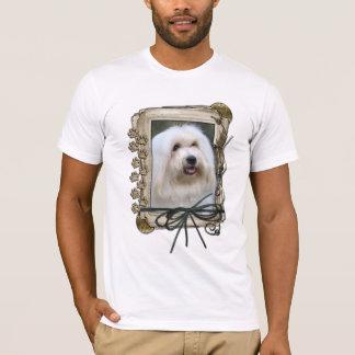Danke - Steintatzen - Baumwolle de Tulear T-Shirt