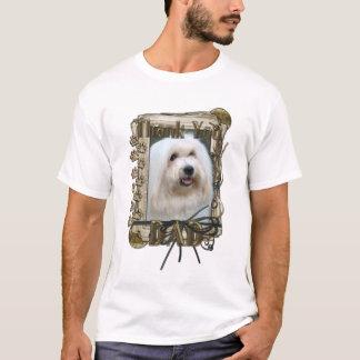 Danke - Steintatzen - Baumwolle de Tulear - Vati T-Shirt