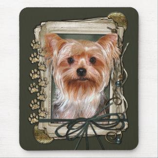 Danke - Steintatzen - Yorkshire Terrier Mauspads