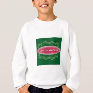 danke ........................ sweatshirt