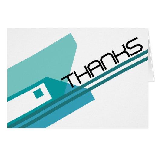 Danke, - Techno Entwurf zu kardieren Karten