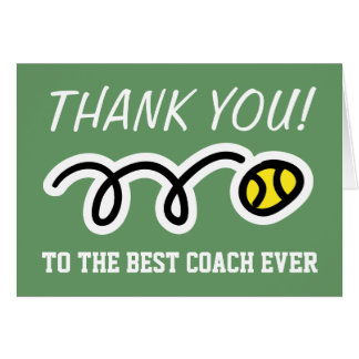 Danke, | Tennis-Grußkarten zu trainieren Grußkarte