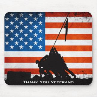 Danke Veterane Mousepads