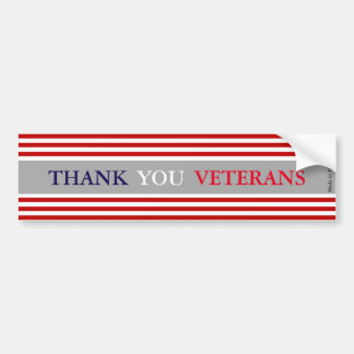 Danke Veteranen-Autoaufkleber Autoaufkleber