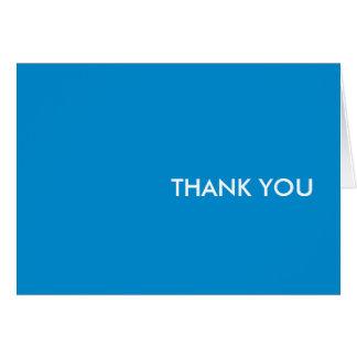 """Danke zu kardieren--""""blauer Traum """" Karte"""