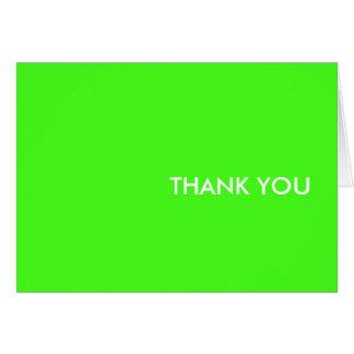 """danke zu kardieren--""""elektrisches Limones """" Karte"""