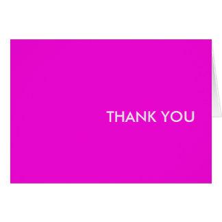 "Danke zu kardieren--""lila Leute bitte "" Karte"