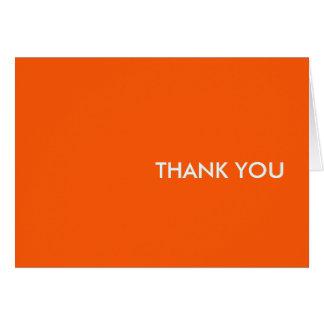"""Danke zu kardieren--""""Orang-einTang """" Karte"""