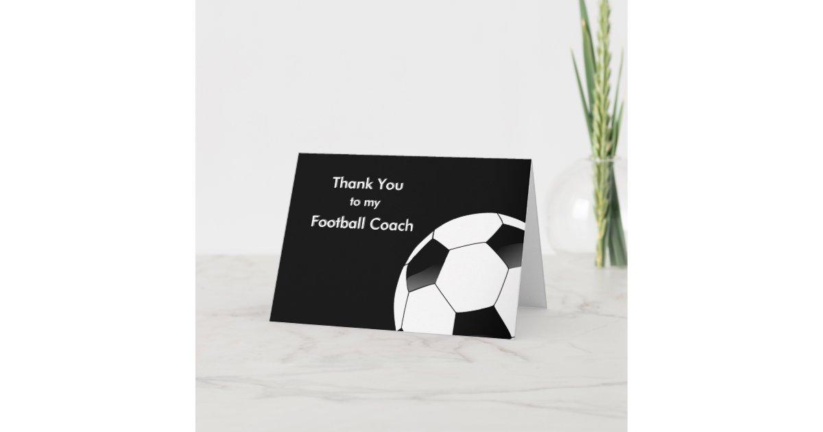Den fußballtrainer an danke Profis sagen