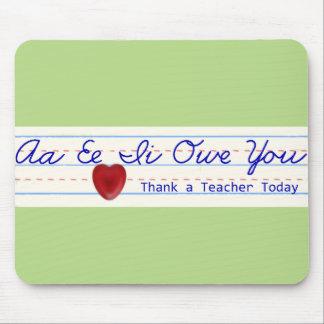 Danken Sie einem Lehrer Mousepad