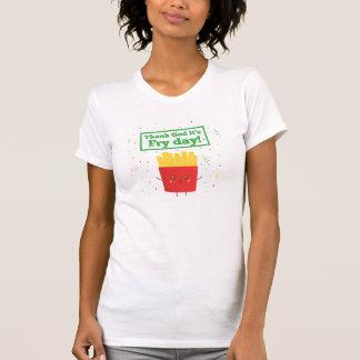 Danken Sie Gott, den es Fischrogen-Tag ist! mit T-Shirt