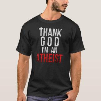 Danken Sie Gott, den ich ein Atheist bin - T-Shirt