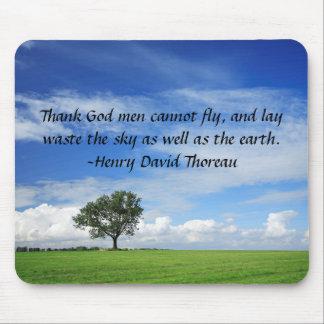 Danken Sie Gott, den Männer nicht fliegen können… Mauspads