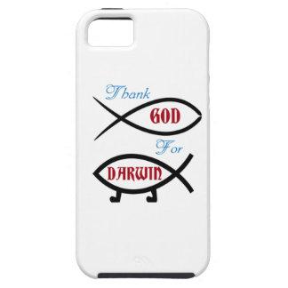 Danken Sie Gott für Darwin Tough iPhone 5 Hülle