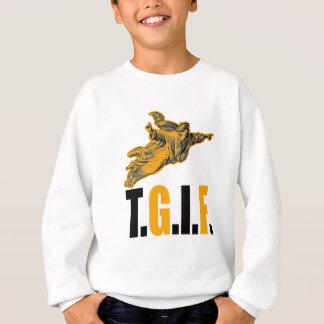 Danken Sie Gott sein Freitag Sweatshirt