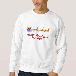 Danken Sie Güte für GPS Sweatshirt