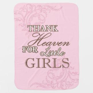 Danken Sie Himmel für kleine Mädchen Swaddle Decke