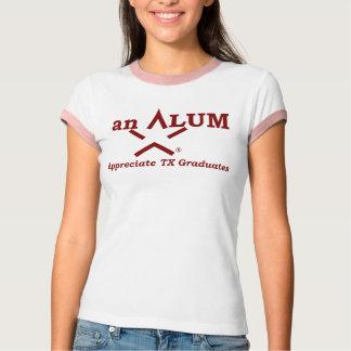 DANKEN Sie TX, einem ALAUN (Kreuzung) T-Shirt