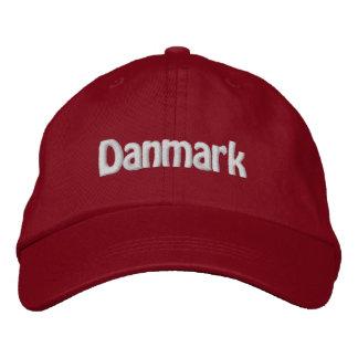 Danmark Bestickte Baseballkappe