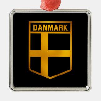 Danmark Emblem Silbernes Ornament