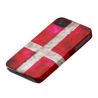 Danmark Flagge iPhone 4 Case-Mate Hülle