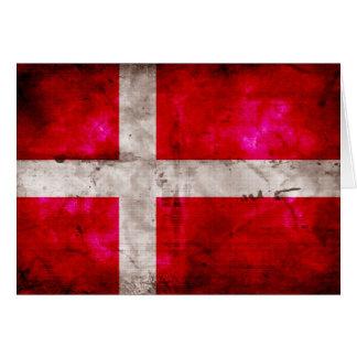 Danmark Flagge Grußkarten
