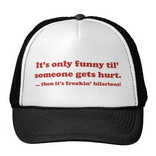 Dann ist es das unglaublich witzig freakin! trucker mütze