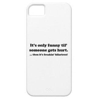Dann ist es das unglaublich witzig freakin! schutzhülle fürs iPhone 5