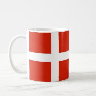 Dannebrog; Die offizielle Flagge von Dänemark Kaffeetasse