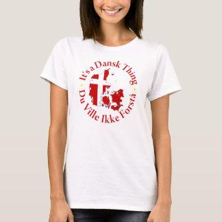 Dansk [Dänemark] Sache T-Shirt