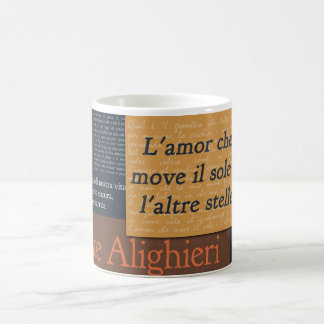 Dante Alighieri Kaffeetasse
