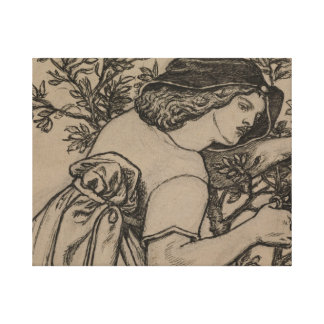 Dante Gabriel Rossetti - König Rene Honeymoon Leinwanddruck