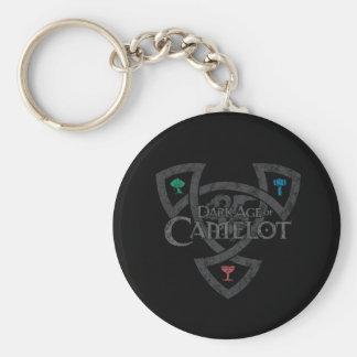 DAoC Knoten-Knopf Keychain Schlüsselanhänger
