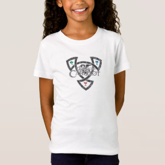 DAoC Knoten-Mädchenbabydoll-T - Shirt