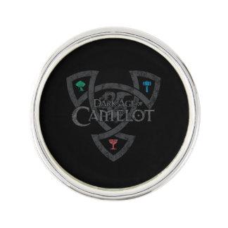 DAoC Knoten-Revers-Button Anstecknadel