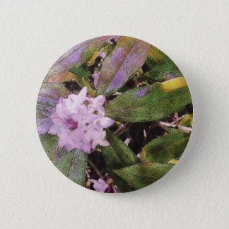 Daphne Aquarell Runder Button 5,1 Cm