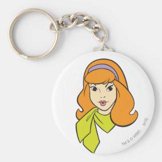 Daphne Pose 17 Standard Runder Schlüsselanhänger