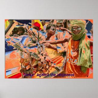 Darfur:  Gegen das Janjaweed II Plakatdruck
