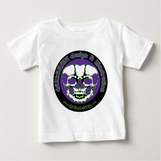 dARkBRAiN Entwurf u. Illustration Baby T-shirt