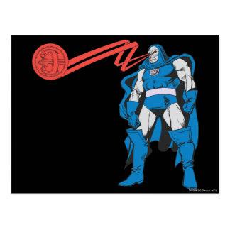 Darkseid verwendet Psionic Power Postkarte