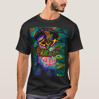 Darm-Zirkus Buzzmeister Logo-Schwarz-T - Shirt für