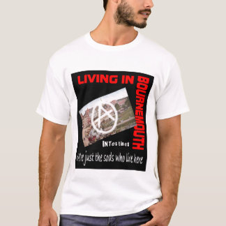 Därme, die in Bournemouth-T-Shirt leben T-Shirt