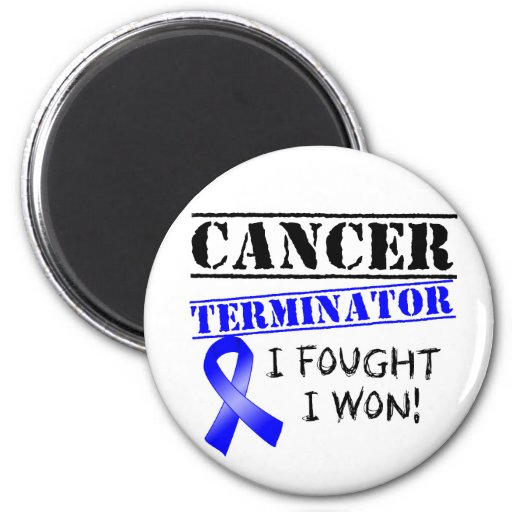 Darmkrebs-Abschlussprogramm Kühlschrankmagnet