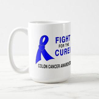 Darmkrebs-Bewusstsein: Kampf für die Heilung! Kaffeetasse