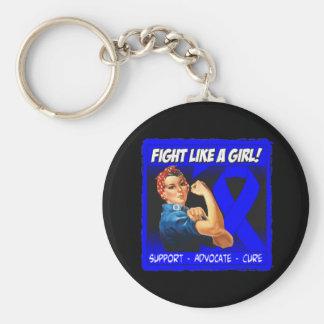 Darmkrebs Rosie Nieteneinschläger - Kampf wie ein  Schlüsselband