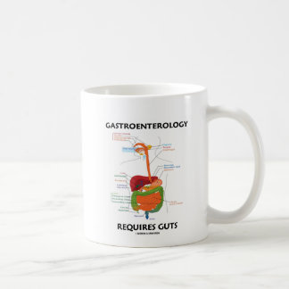 Darmleiden erfordert Eingeweide (Verdauungssystem) Kaffeetasse