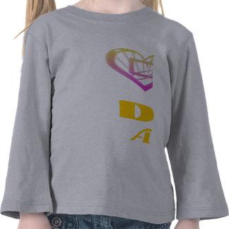 Darque Girlz T-Stück Herz-N Darque Shirt
