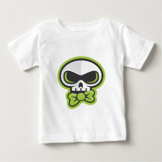 Darstellen der Blaine K Skully Tracht Baby T-shirt