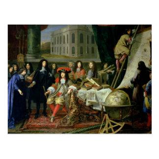 Darstellen Jean-Baptiste-Colbert königlich Postkarte