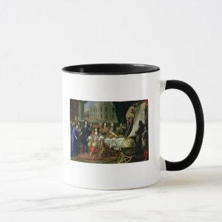 Darstellen Jean-Baptiste-Colbert königlich Tasse